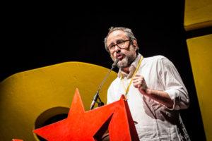 Antonio Baños va sortir reforçat del debat de La Sexta. Foto: Jordi Borràs