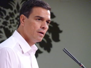 Pedro Sánchez, secretari general del PSOE. Foto: PSOE