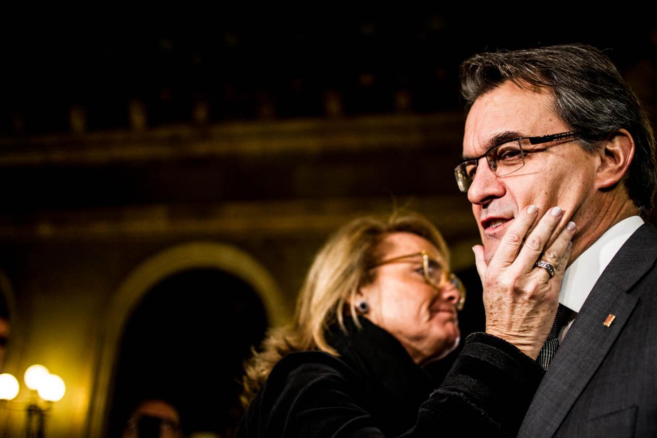 Es poc probable que Mas sigui investit President aquesta setmana. Foto: Parlament.cat