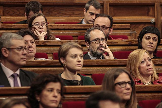 Ara per ara el grup parlamentari de la CUP no es planteja investir Mas. Foto: Parlament.cat