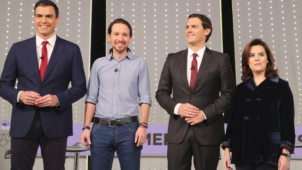 El debat a 4 de la campanya espanyola ha marcat un punt d'inflexió. Foto: Atresmedia