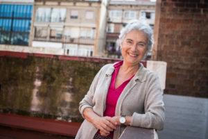 Muriel Casals l'octubre de 2014. Foto: Jordi Borràs