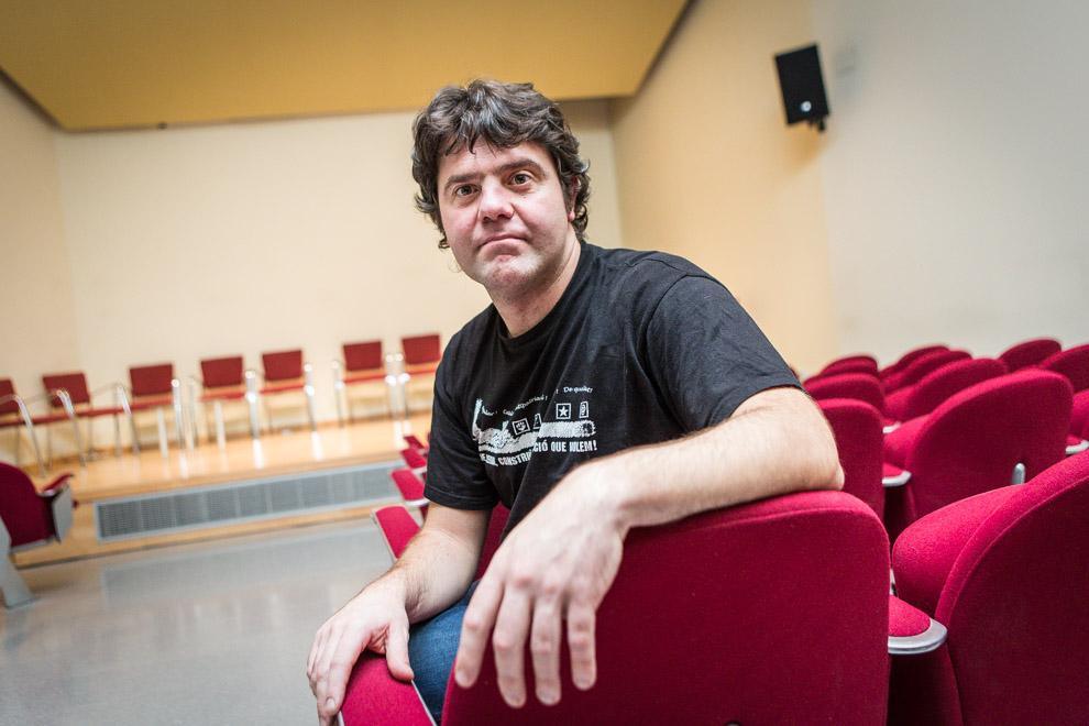 Josep Manel Busqueta, economista i pastisser. Foto: Jordi Borràs