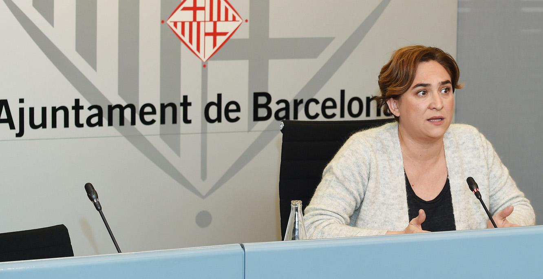 Ada Colau ho té difícil per aprovar avui els nous pressupostos. Foto: Ajuntament de BCN