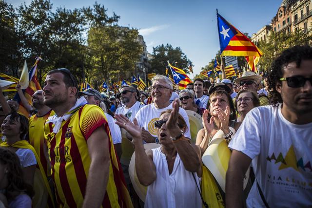 Som a les portes de la independència? FOTO: Jordi Borràs