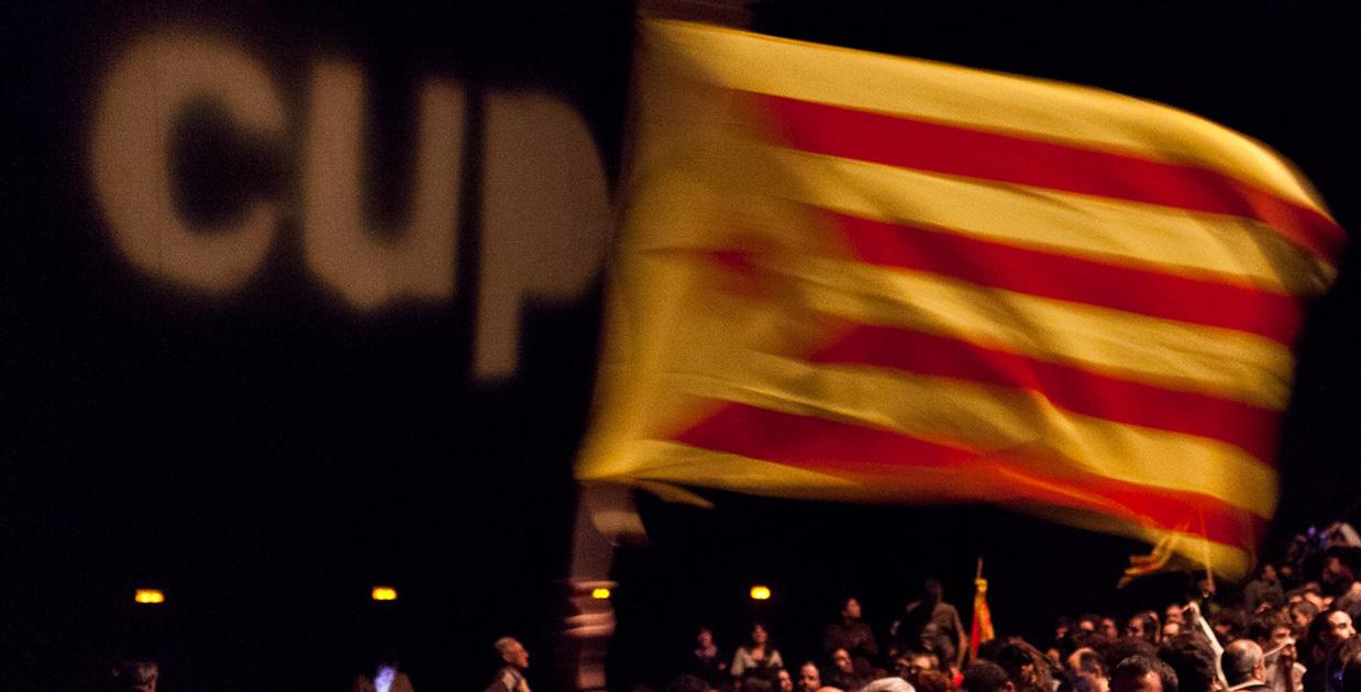 Míting de la CUP. Foto: Jordi Borràs