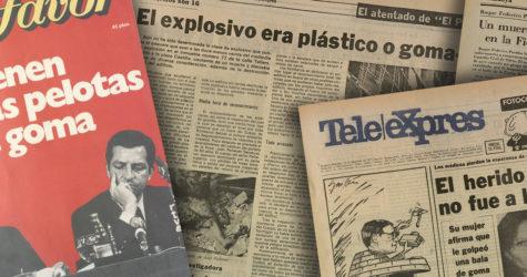 Els morts de la Transició: quaranta anys d'un oblit imperdonable