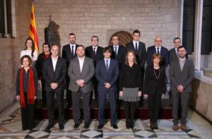 Foto oficial del nou Govern