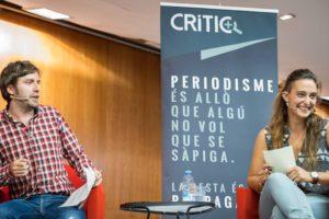 Sergi Picazo i Mar Romero. Foto: Jordi Borràs