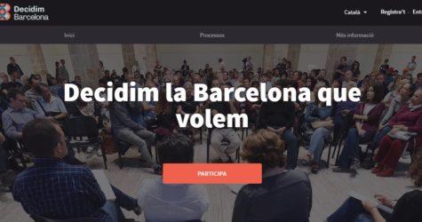 Dubtes i preocupacions sobre els processos participatius impulsats per Barcelona en Comú