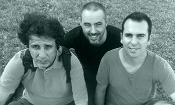 Eloi Badia, Jaume Grau i Quim Pérez