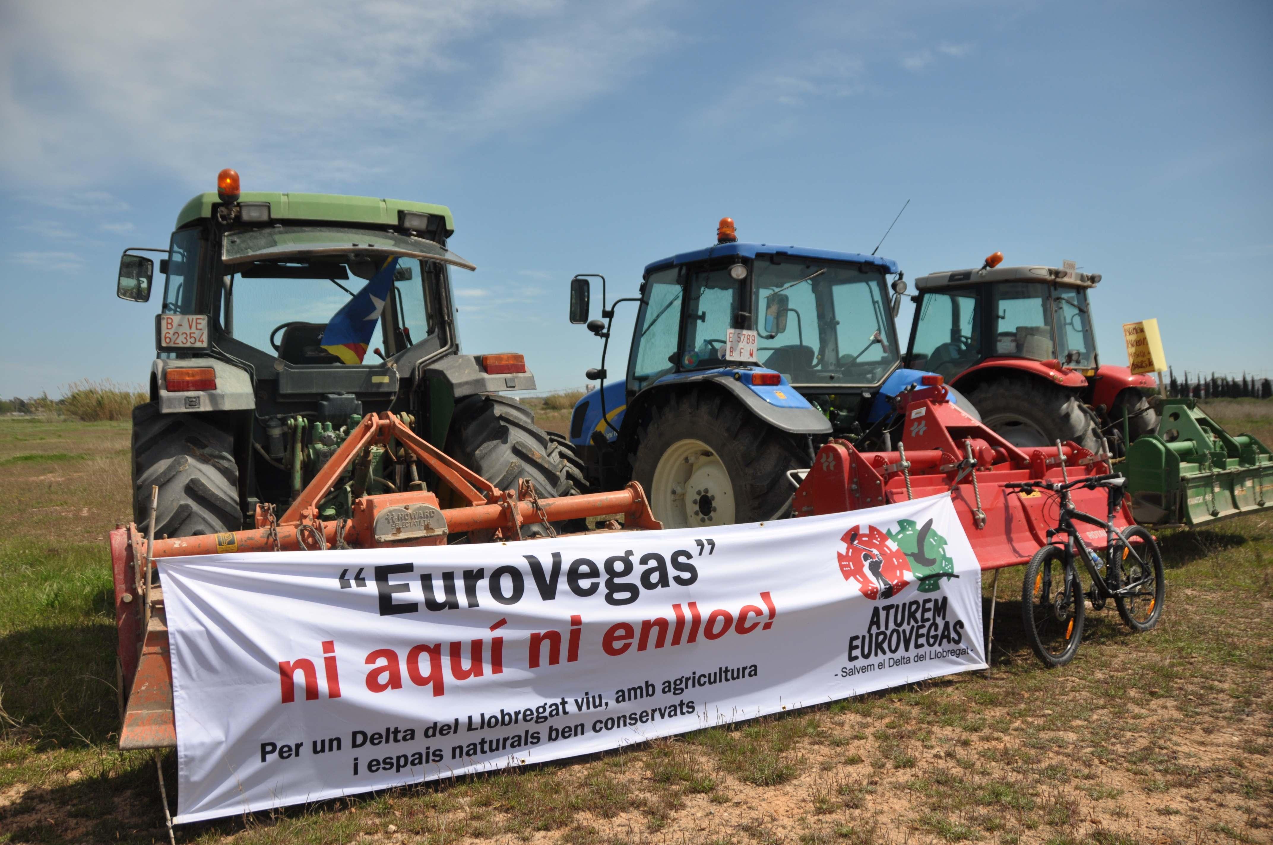 Protesta contra Eurovegas / JAUME GRAU