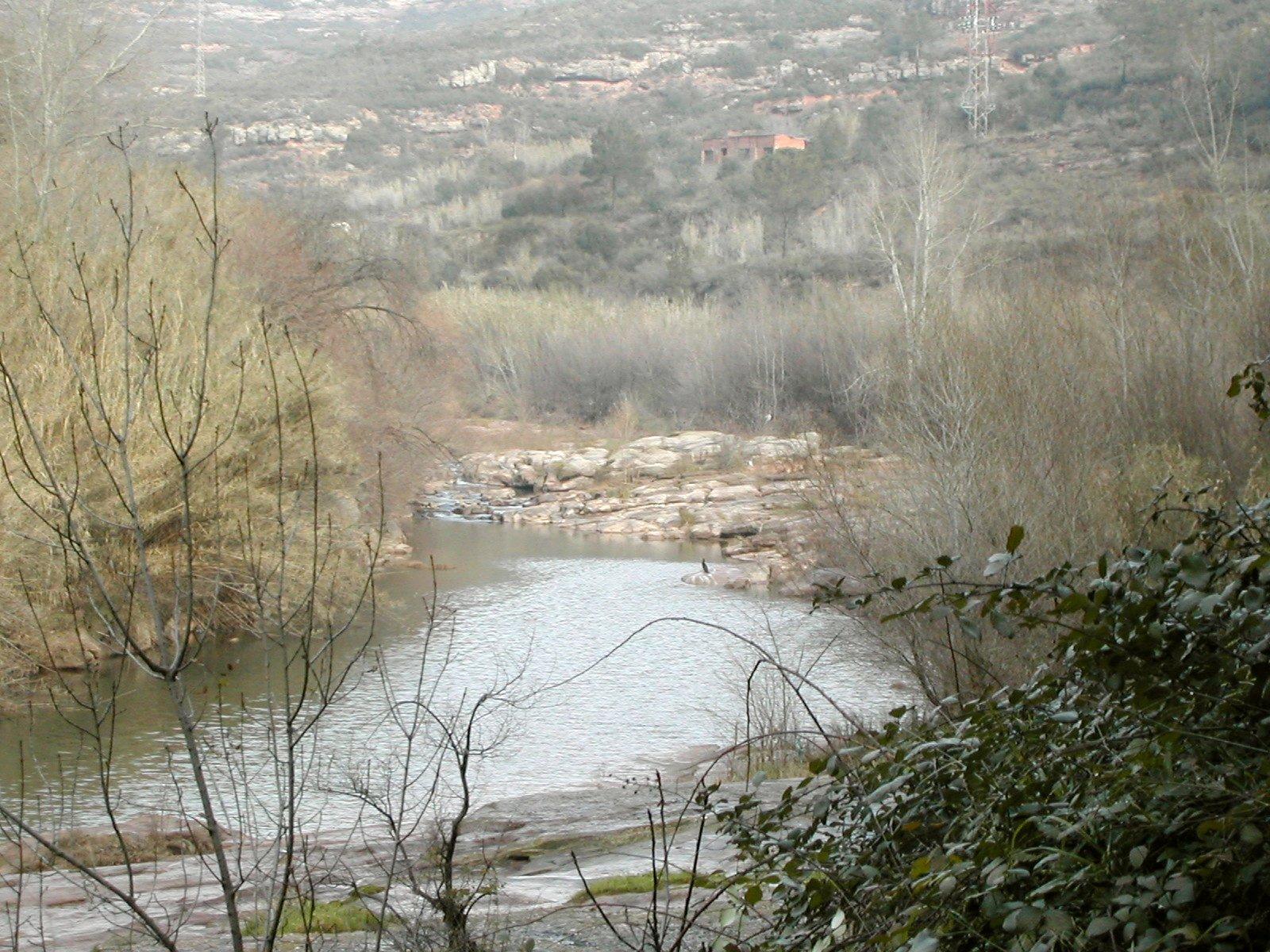 Riu Llobregat a Monistrol de Montserrat / DAVID