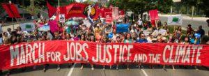 Manifestació pel treball, la justícia i el clima, a Toronto, el 5 de juliol de 2015 / Robert van Waarden
