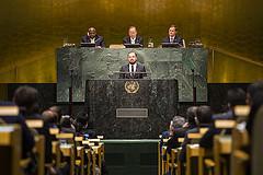 Cimera de les Nacions Unides sobre el Canvi Climàtic, a Nova York, setembre de 2014 / Foto: Nacions Unides