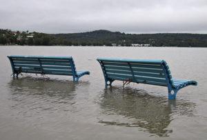 Warners Bay. Austràlia, després d'una tempesta el 2007, una metàfora del que pot passar amb el nivell del mar. Foto: Tim J. Keegan