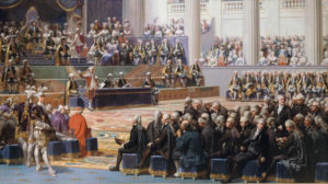 Estats Generals de 1789 a França / Auguste Couder, 1839, Musée de l'Histoire de France a Versailles