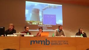 La taula de la jornada organitzada per l'ODG el 31 de gener de 2015 al Museu Marítim de Barcelona / ODG