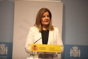 La ministra de Treball, Fátima Báñez