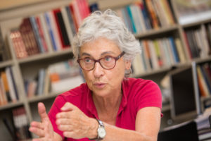 La CUP i els independents de Junts pel Sí van plantejar la presidència de Muriel Casals. Foto: Jordi Borràs