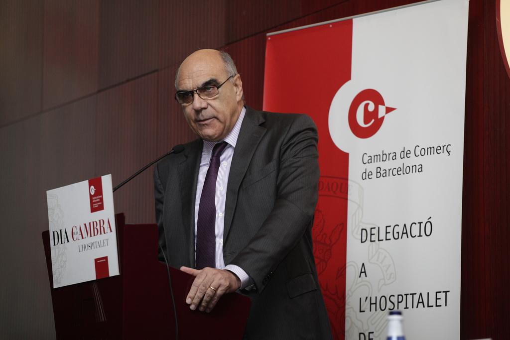 Salvador Alemany, president d'Abertis. Foto: Cambra BCN