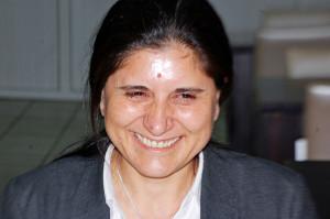 Asiya Abdullah, copresidenta del PYD. Foto: Nora Miralles