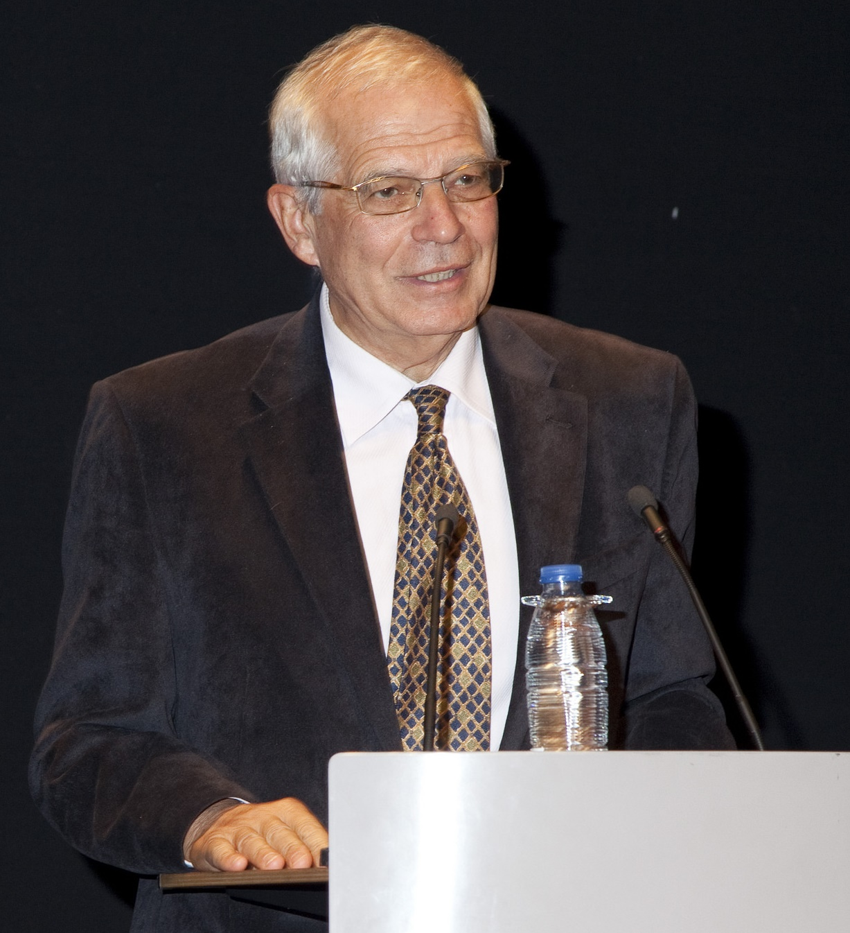 Josep Borrell, en una entrega de diplomes universitaris / UNIVERSITAT CARLOS III