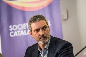 Josep Ramon Bosch president de SCC en una roda de premsa / J. BORRÀS
