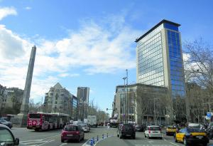 Cantonada de Passeig de Gràcia amb Diagonal, a la ciutat de Barcelona / JOAN MOREJON / CARRER