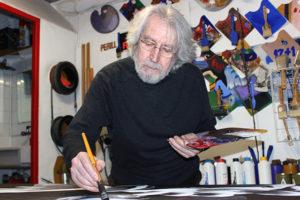 Antoni Miró al Sopalmo. Foto: Feliu Ventura.
