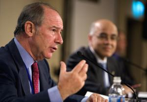 Rodrigo Rato, quan era director de l'FMI / ARXIU