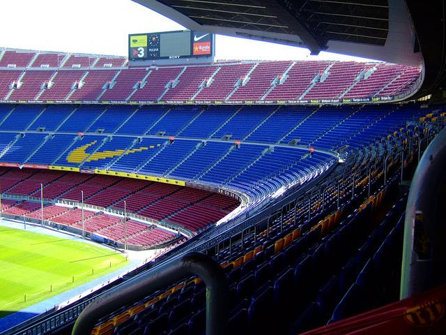Patrocinadors del club al Camp Nou / J.S. BARBER