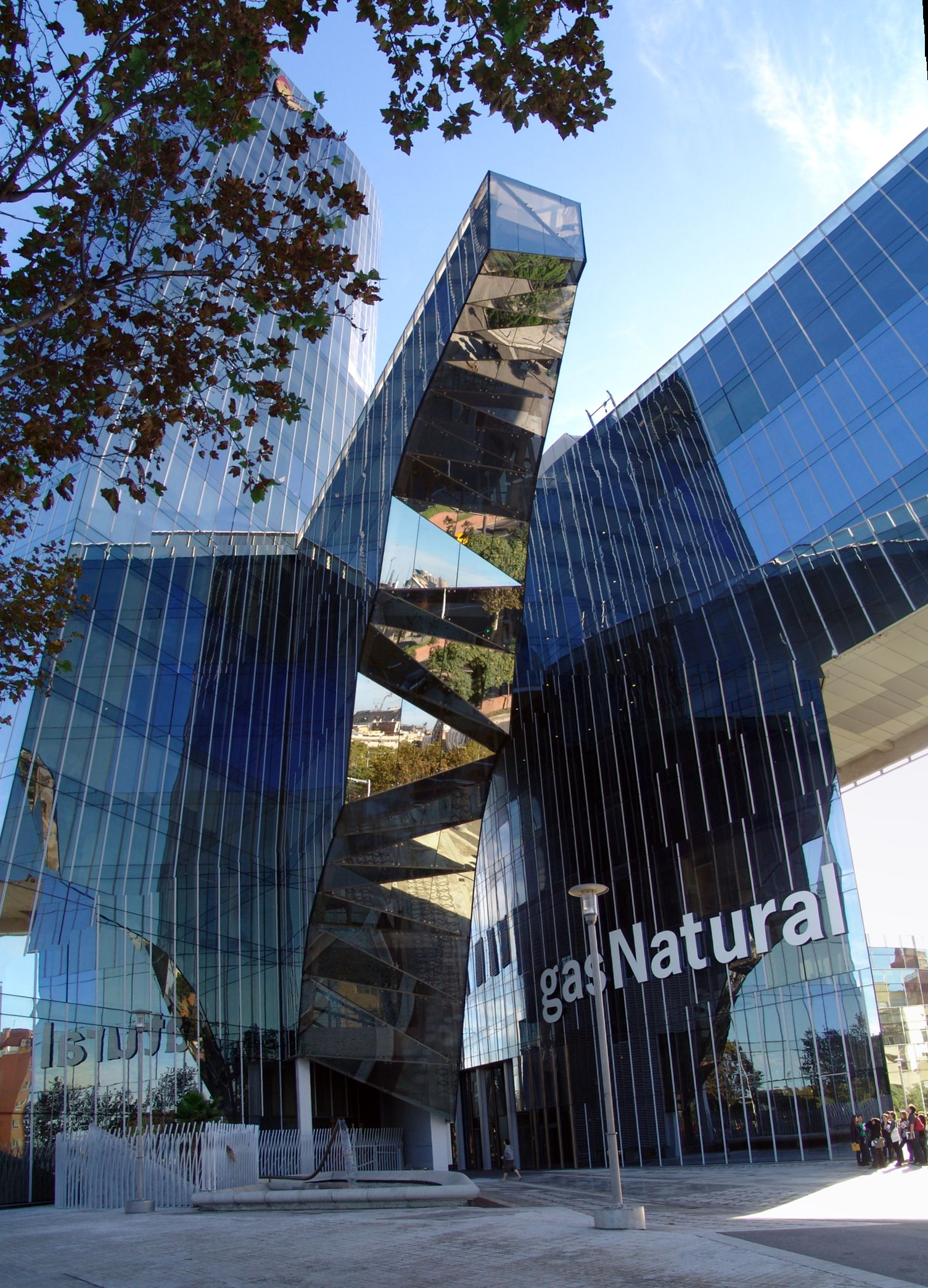 Torre de Gas Natural, a Barcelona / ANDRES UMIDA