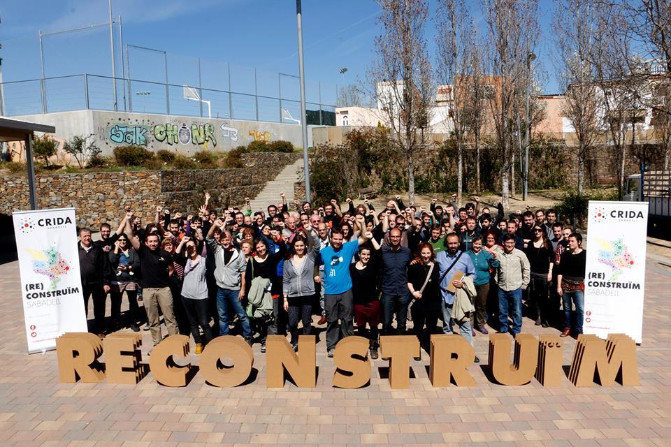 Llista electoral i simpatitzants de la Crida per Sabadell / CxS