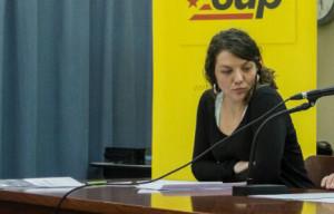 L'alcaldessa de Berga, Montse Venturós / CUP Berga