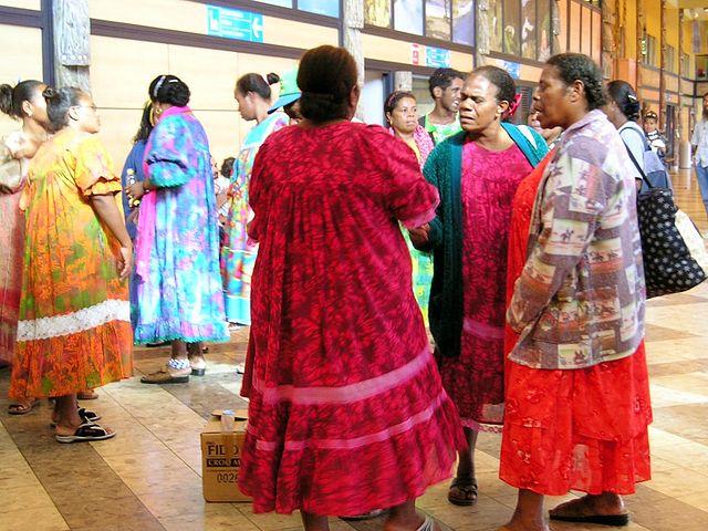 Dones canac de Nova Caledònia. Foto: Bananaflo