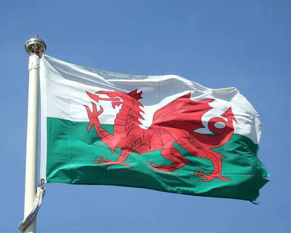 Bandera de Gal·les. Foto: Calum Hutchinson.