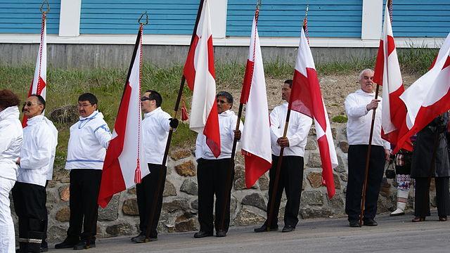 Celebracions del Dia Nacional de Groenlàndia, a Sisimiut / Algkalv