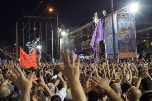 Manifestació en favor del 'no' a la plaça Syntagma, abans del referèndum grec / GGIA
