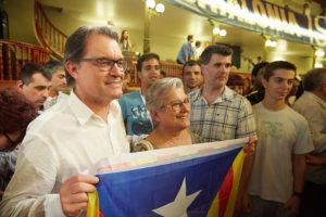Artur Mas a l'acte de Molins de Rei del 20 de juny. Foto: CDC