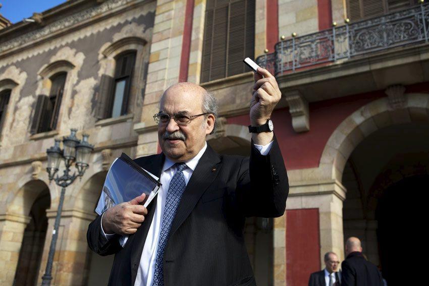 L'exconseller d'Economia de Mas, Andreu Mas-Colell, va autoritzar el contracte directe amb l'Arquebisbat / Anna Sosa Ródenas - GENCAT