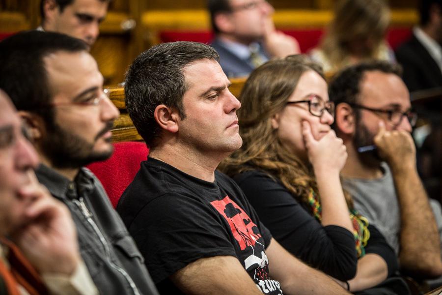 Diputats de la CUP al Parlament / Foto: JORDI BORRÀS