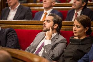 Diputats de Ciutadans al Parlament / JORDI BORRÀS
