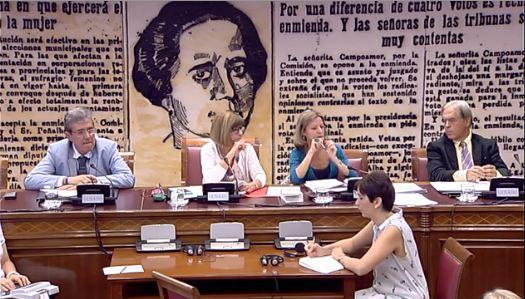 Reunió en comissió al Senat / SENAT