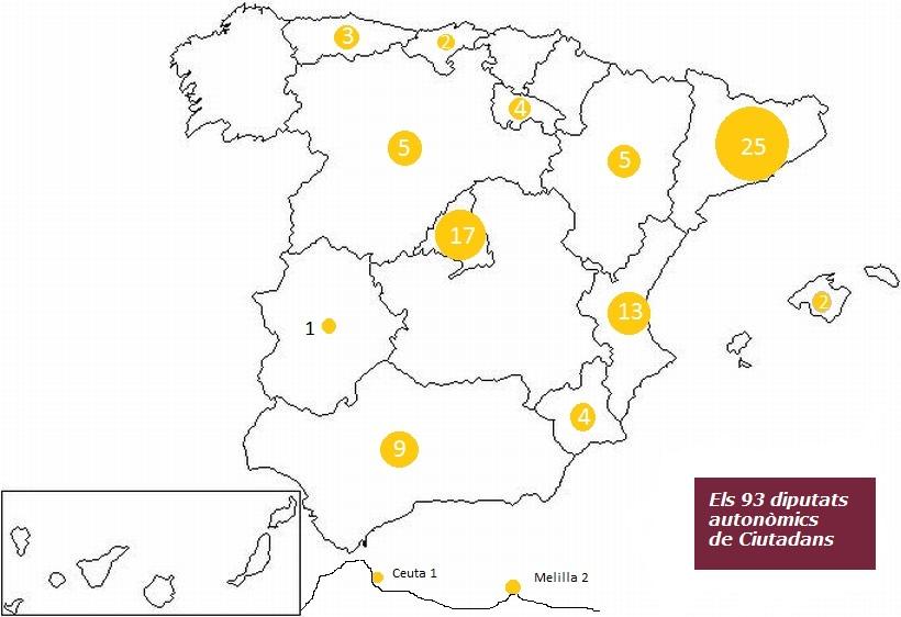 mapa ciutadans granate