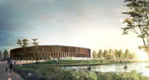 Nou Palau d'Esports de Tarragona previst pels Jocs del Mediterrani / JJMM