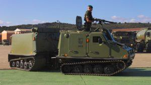 Exhibició militar a Sant Climent Sescebes