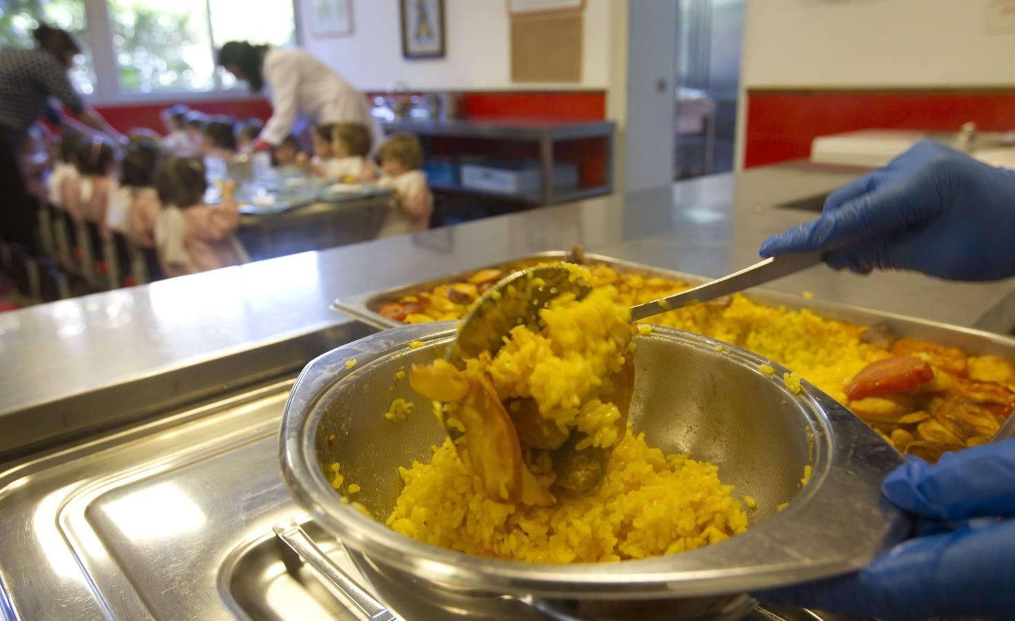 Menjador escolar / DAMIAN TORRES