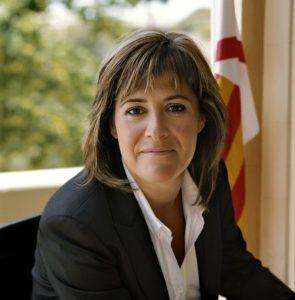 L'alcaldessa de l'Hospitalet, Núria Marín