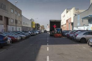 El carrer Cobalt, el 'central street' del Districte Cultural / XAVI HERRERO